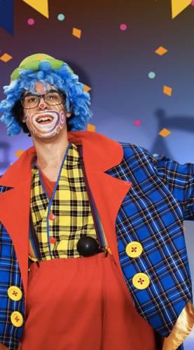 Animation enfant anniversaire Clown Ribambelle