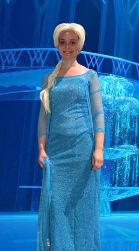 Animation enfant anniversaire La Reine des neiges Ribambelle