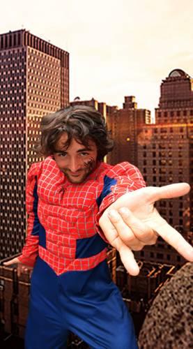 Animation enfant anniversaire Spiderman Ribambelle