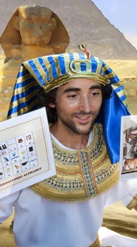 Animation enfant anniversaire Noël chez les Pharaons Ribambelle