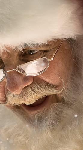 Animation enfant anniversaire Père Noël en centre commercial Ribambelle