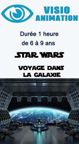 Animation enfant anniversaire visio animation -  STAR WARS Ribambelle