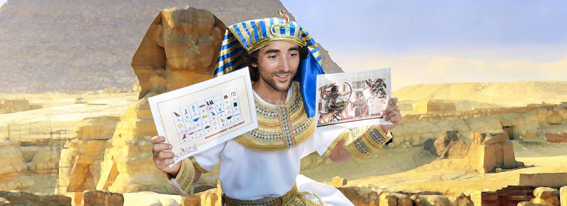 Slider d'images de l'animation Pharaon Prince d'Egypte