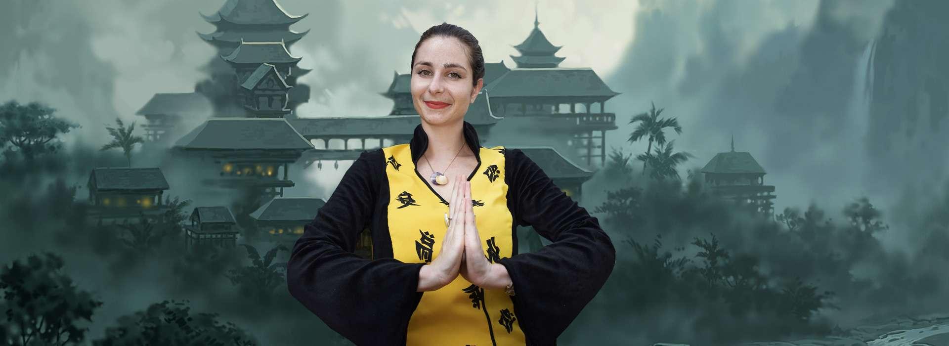 Slider d'images de l'animation La petite chinoise