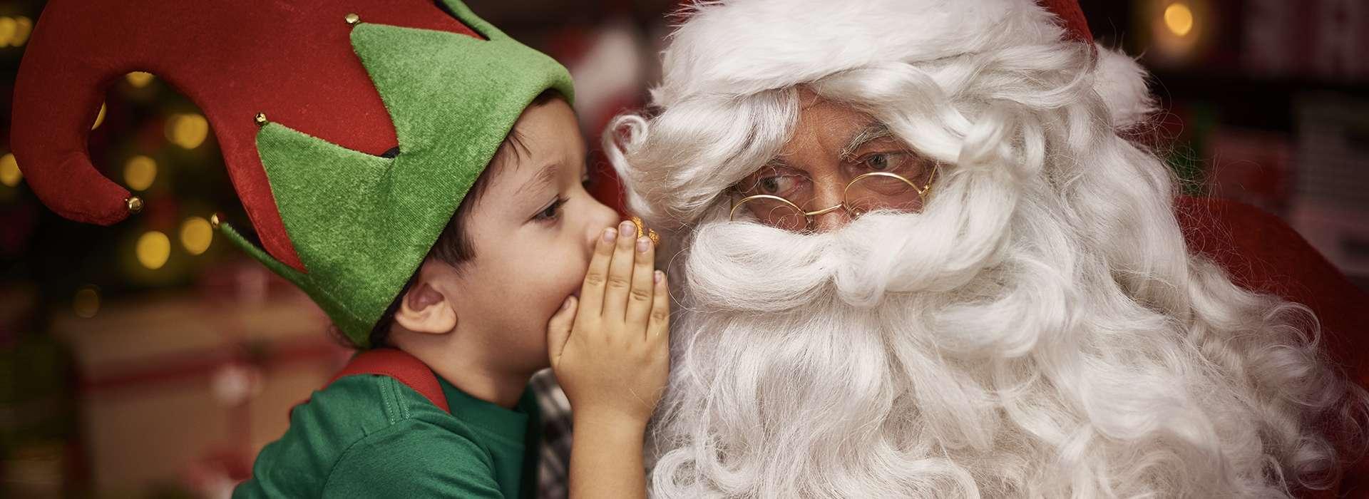 Slider d'images de l'animation Père Noël en centre commercial