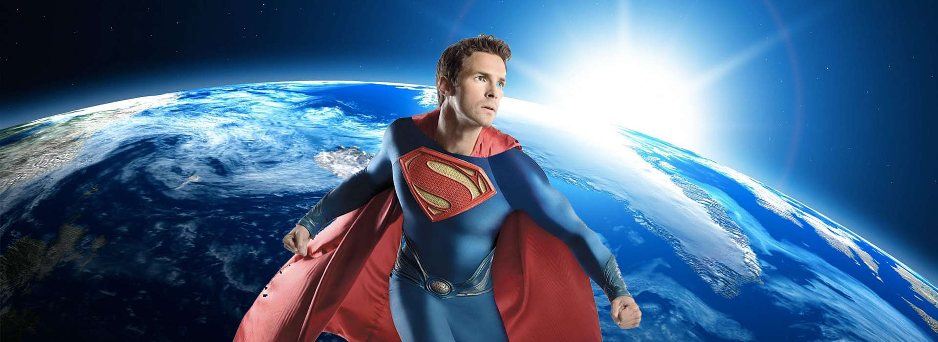 Slider d'images de l'animation Superman