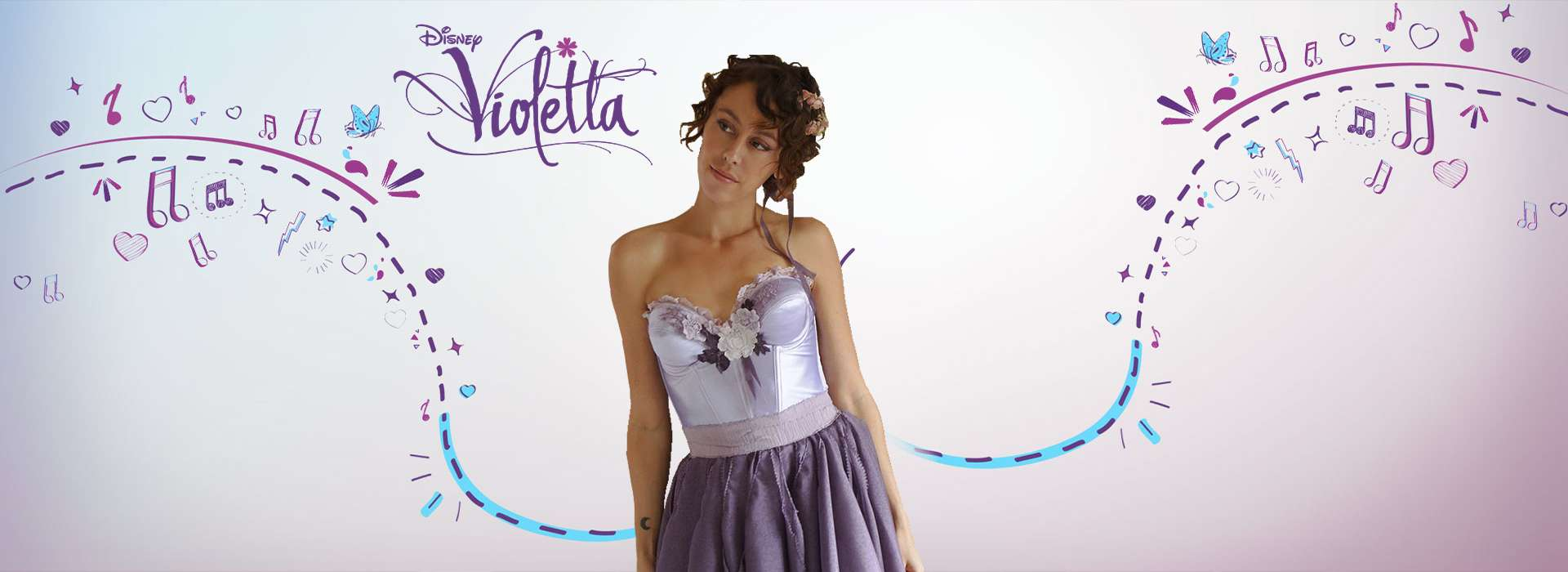 Slider d'images de l'animation Violetta