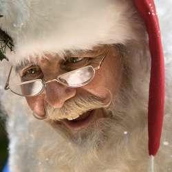 images miniatures de l'animation Père Noël en centre commercial